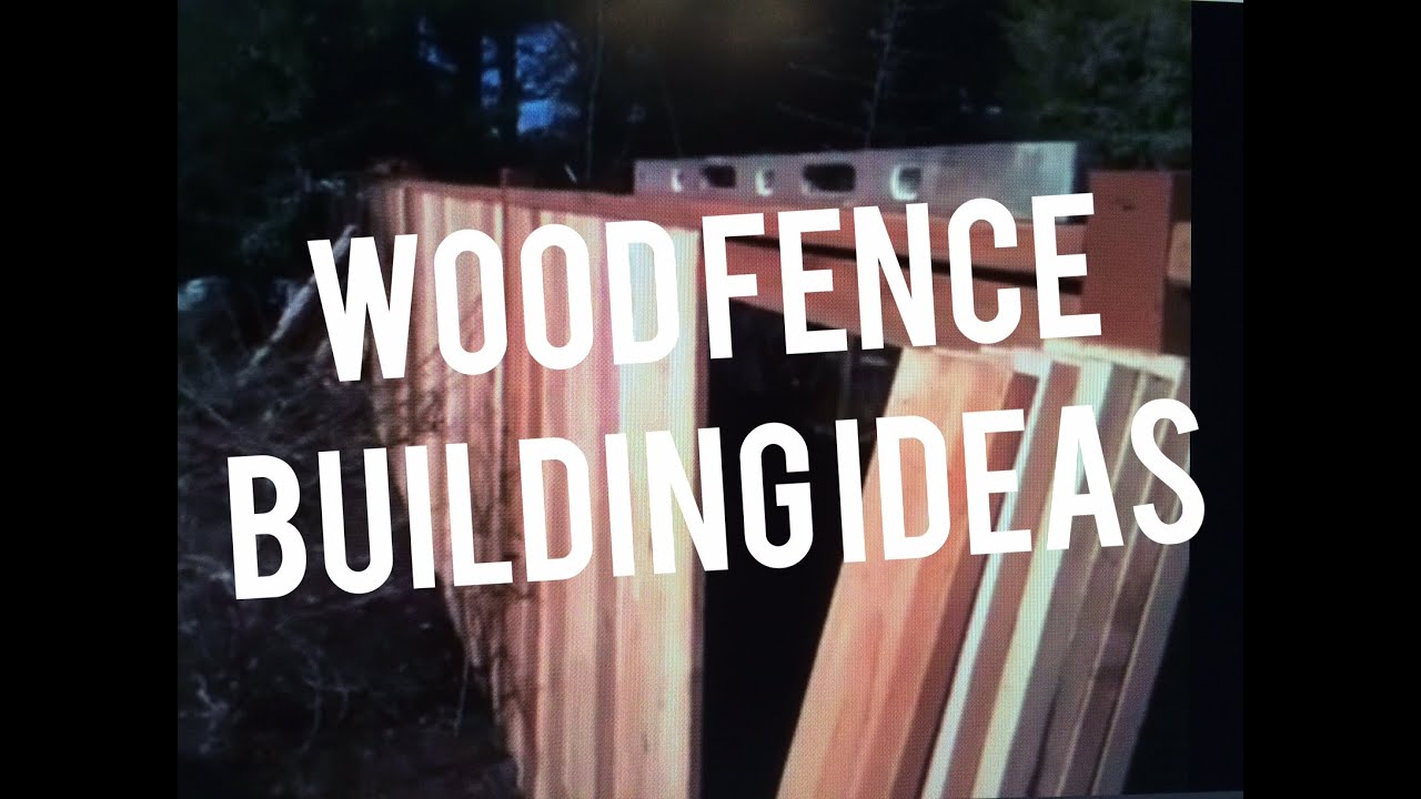 How to build a wooden fence cedar wood pickets carpenter how to build a wooden fence cedar wood pickets carpenter instructions youtube baanklon Gallery