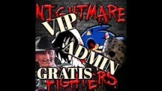 Como Ser VIP Y Admin En Nightmare Fighters [BETA] -- [ROBLOX ]-Gratis Y Sin Programas- [Funcionando]