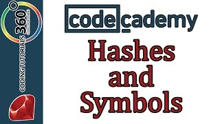Learn Ruby with Codecademy: Hashes and Symbols: Hashes and Symbols