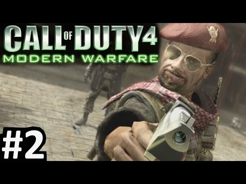 CoD4 Campaign Part 2 Call of Duty 4: Modern Warfare PC Gameplay