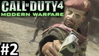 "CoD4 Campaign Part 2 ""Call of Duty 4: Modern Warfare"" PC Gameplay"