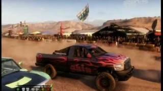 Colin McRae DiRT 2 (Xbox 360) - Morocco Raid race gameplay