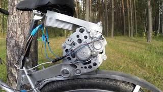 видео: Электровелосипед из Генератора