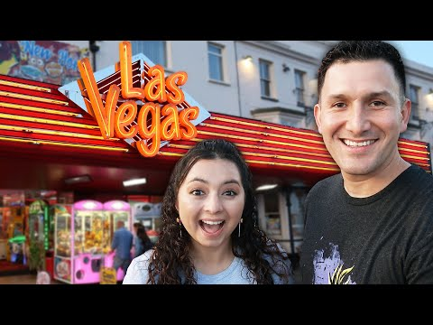 Time To Explore The Las Vegas Arcade In Southend, England!