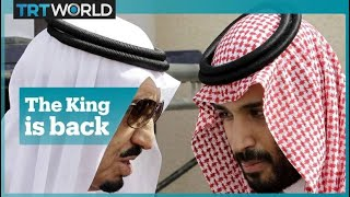 King Salman takes over Palestine policy from MBS