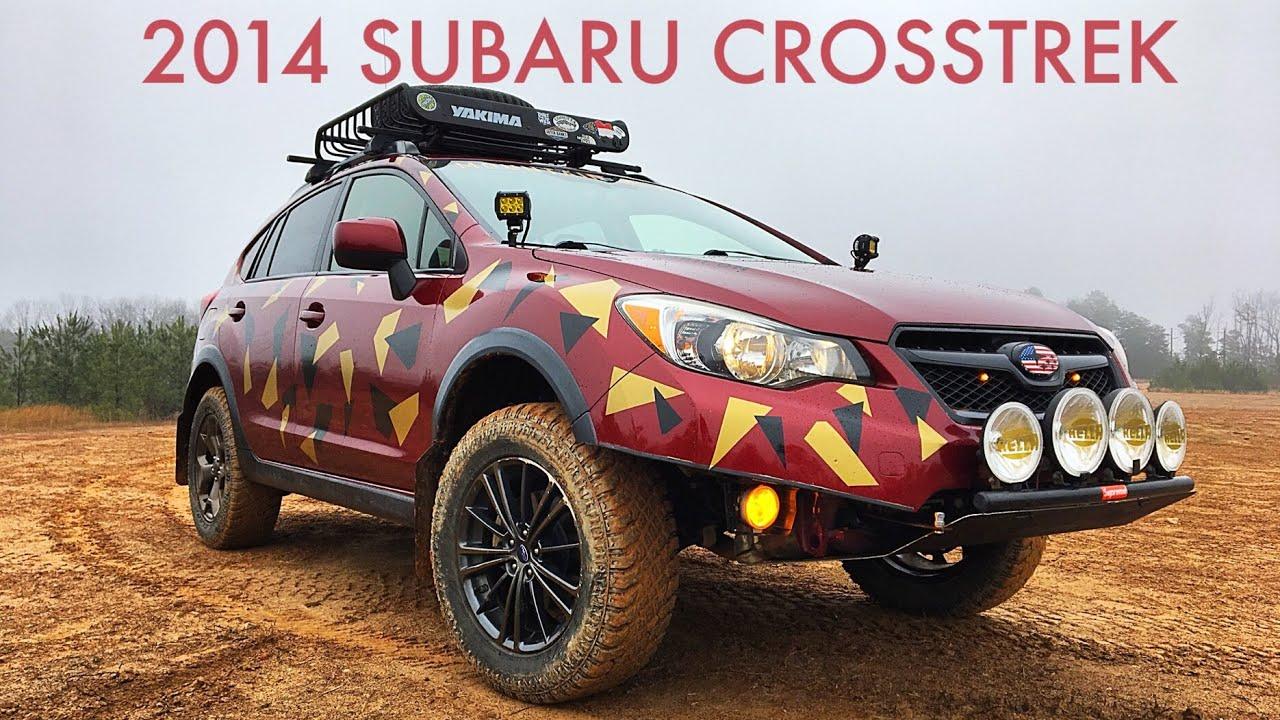 Crazy Lifted Subaru Crosstrek Review Youtube