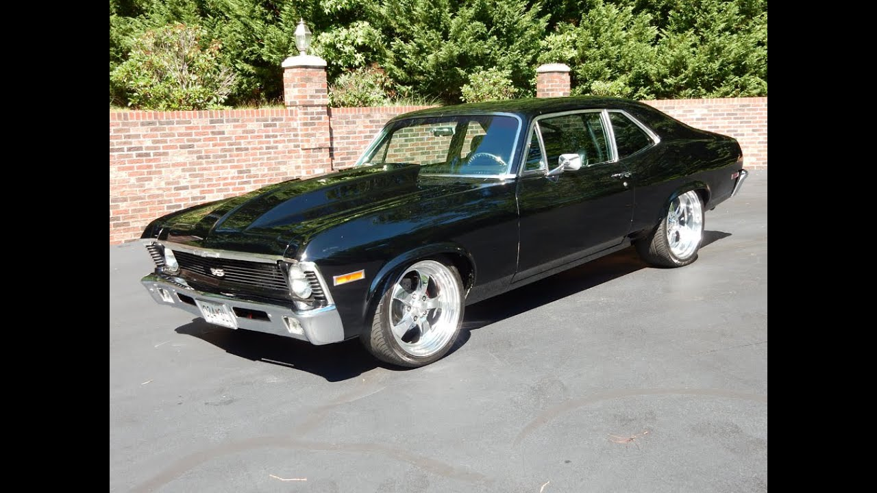 1970 Chevy Nova Mini Tubbed black for sale Old Town Automobile in ...