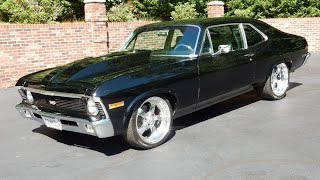 1970 Chevy Nova Mini Tubbed black for sale Old Town Automobile in Maryland