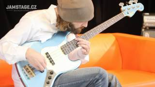 Squier James Johnston Jazz Bass - Jaryn Janek)