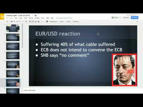 UK EU Referendum Aftermath Analysis - Where next for the British Pound?