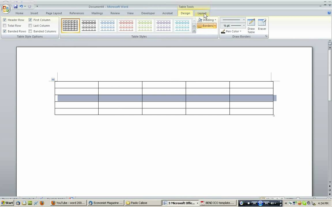 how to break text into two columns in word