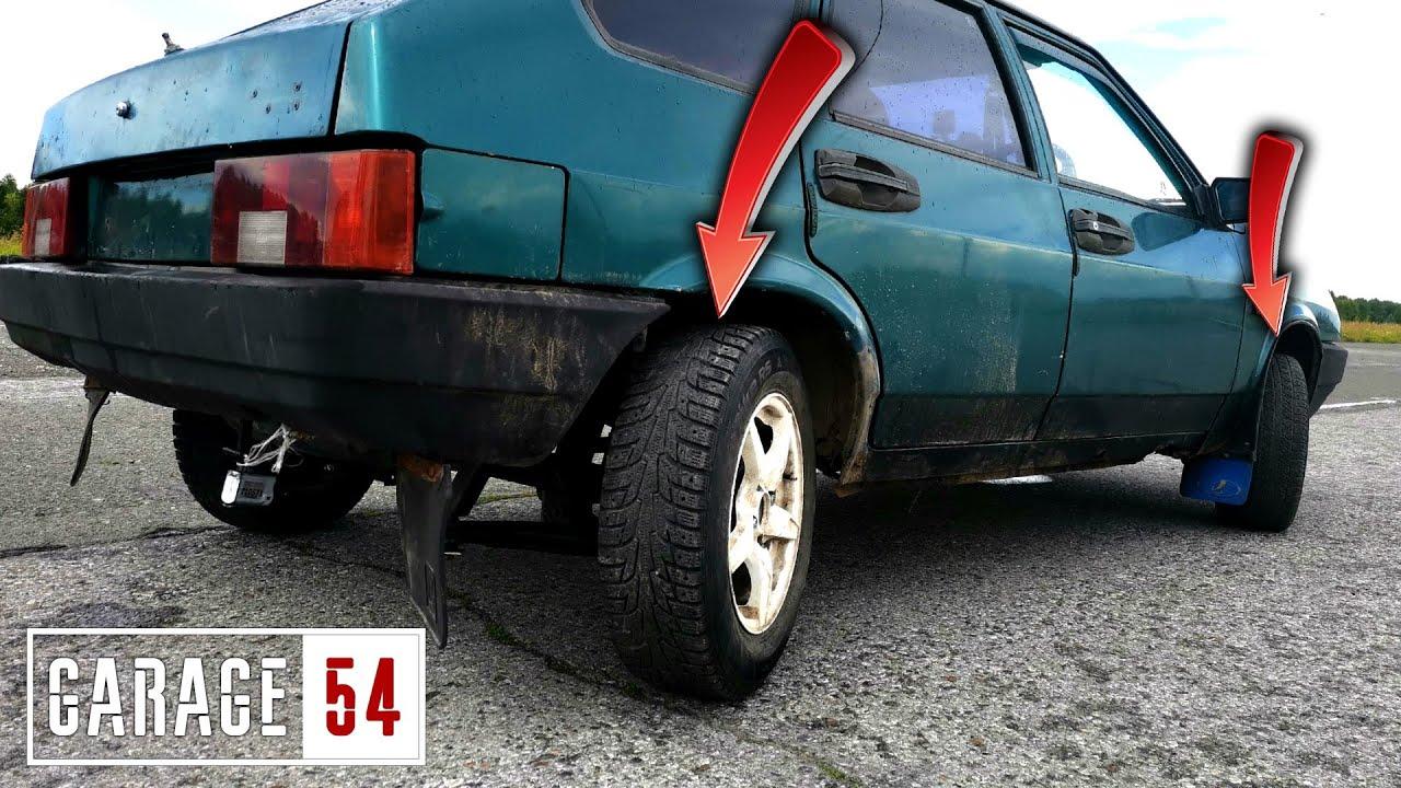 Рулящие задние колеса - Как это работает?