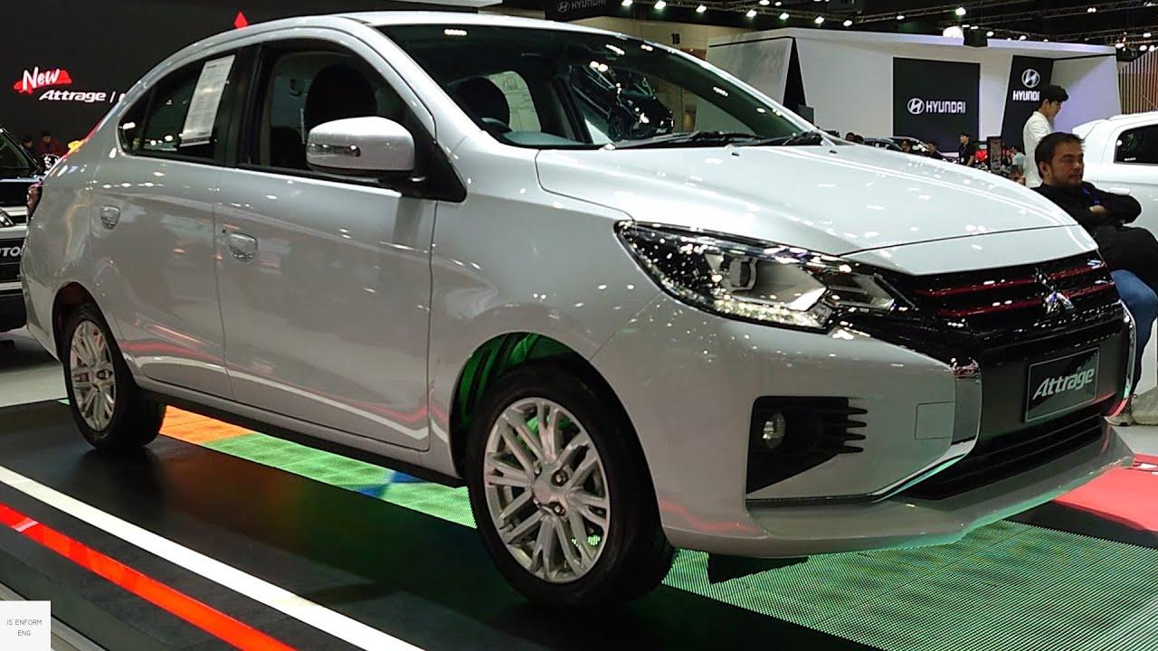 2020 Mitsubishi Attrage Facelift 1 2 In Depth Walkaround Exterior Interior Youtube