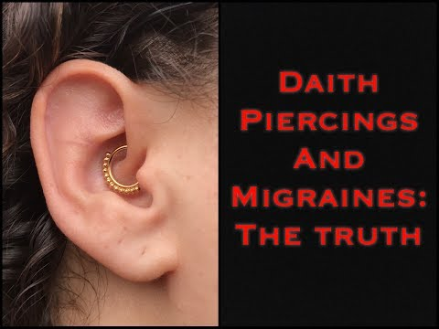 Piercing Realtalk Episode 4 : The Truth About Daiths and Migraines