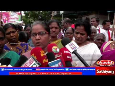 Sathiyam Sathiyame: Caste violence on Sirukadambur Nandhini, Is Hindu Munnani the Reason? | Part 1