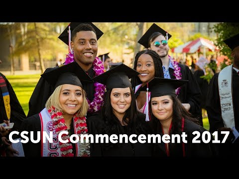 CSUN Commencement 2017: Mike Curb College of Arts, Media, and Comm.