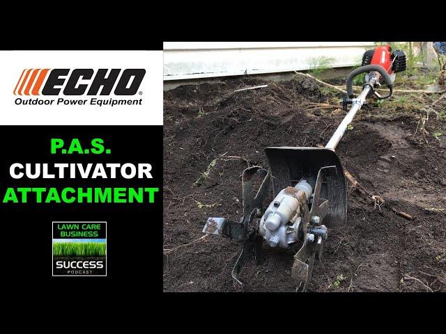 ECHO PAS Cultivator Attachment with PAS 2620 Power Head