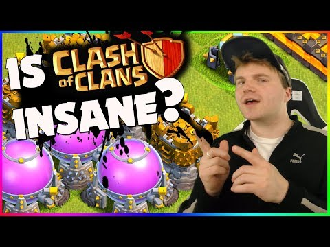 DID Clash of Clans LOSE IT'S MIND? (...Or Did I?)