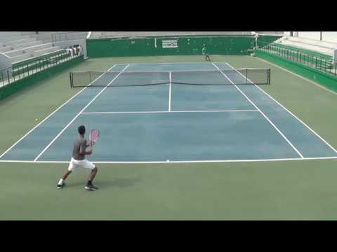 Mritunjay Badola - Tennis College Scholarship Point Play