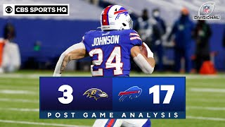 Ravens vs Bills: Historic pick-six lifts Buffalo | NFL Divisional Round | CBS Sports HQ