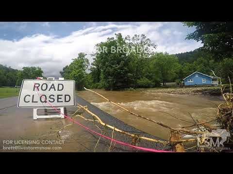 05-30-18 Marion, N.C. - McDowell County, N.C. Flooding and Tahoma Dam High Water