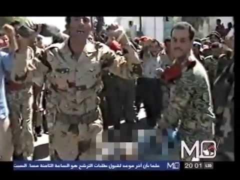 جرائم كتائب القذافي : اعدام عبدالسلام اخشيبة سنة 2005 Gaddafi crimes