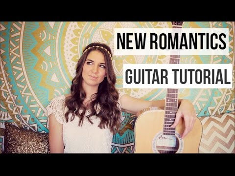 New Romantics - Guitar Tutorial // Taylor Swift