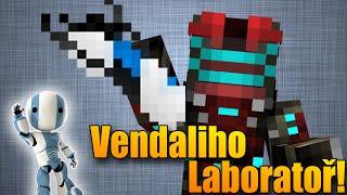 PORTAL GUN A ROBOT! - Minecraft: Vendaliho Laboratoř - Vanilla Módy #2!