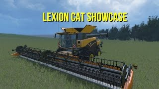 Farming Simulator 2015 Lexion Cat Harvester Showcase