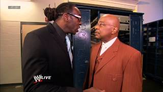 Tension rises between Theodore Long and SmackDown GM Booker T: SuperSmackDown, Dec. 18, 2012