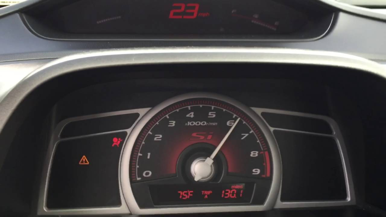Civic SI 2007 0-60 mph - YouTube