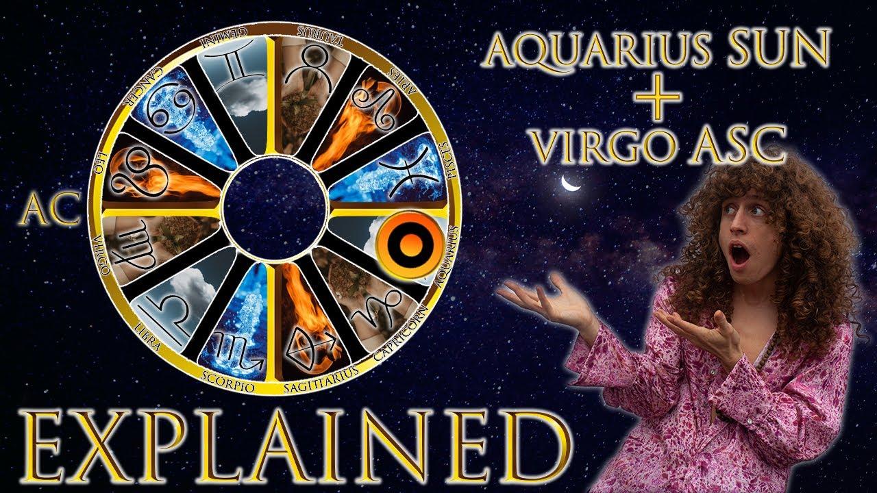 Aquarius Sun Virgo Rising - Horoscope