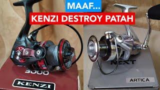 Test Kenzi Destroy VS Next Artica | Bail Arm Patah
