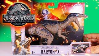 FALLEN KINGDOM | Baryonyx Roarivore | UNBOXING & REVIEW