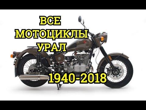 Все мотоциклы😈Урал😈в одном видео||ИМЗ||Ирбитский Мотозавод||Ural