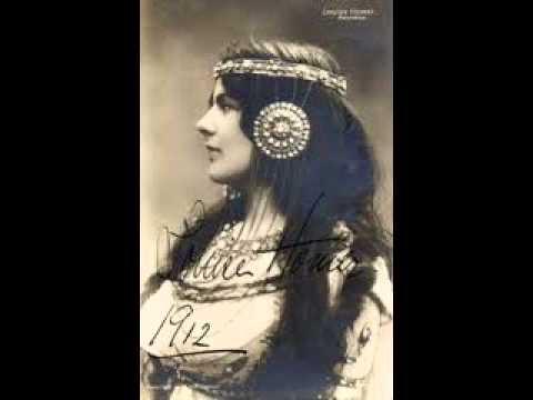 """Louise Homer Sings """"Divinités du Styx,"""" [Italian] From Gluck's Alceste   1911"""