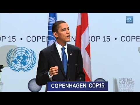 President Obama at Copenhagen Climate Change Conference-Morning Plenary Session