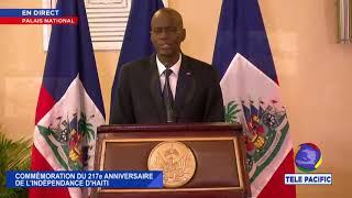 🔴 COMMÉMORATION DU 217e ANNIVERSAIRE DE L'INDÉPENDANCE D'HAITI | EN DIRECT | 1er Janvier 2021. 📽 🎬 📺