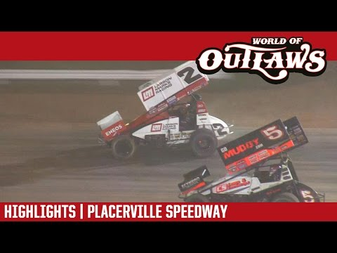 World of Outlaws Craftsman Sprint Cars Placerville Speedway March 29, 2017 | HIGHLIGHTS