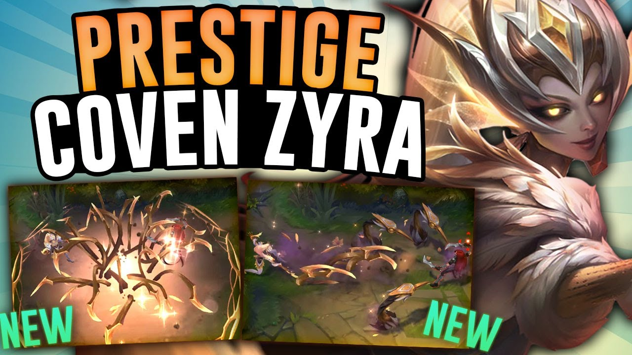 The New PRESTIGE COVEN ZYRA is AMAZING! – Zyra Jungle – League of Legends