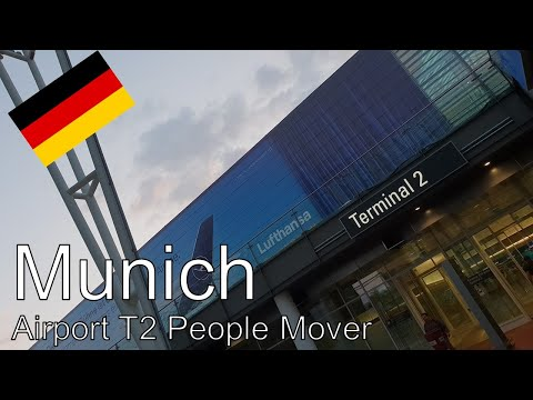 Munich - Airport Terminal 2 Automated People Mover