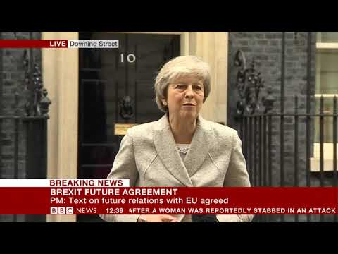 """Theresa May: A deal is """"within our grasp"""""""