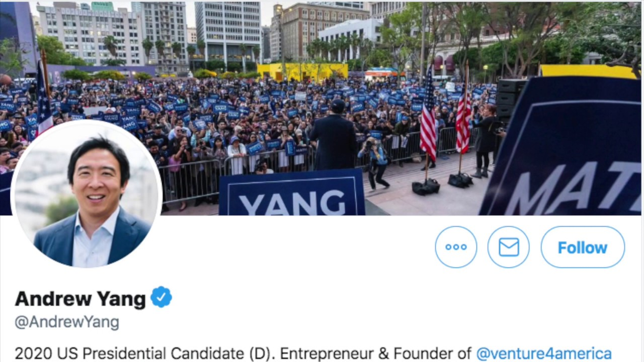 Andrew Yang is a Marketing Genius on Donald Trump Impeachment : Re Asian Male Business Owner