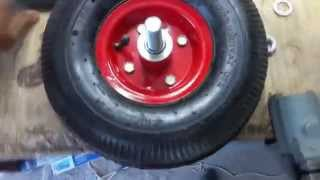 видео транцевые колеса
