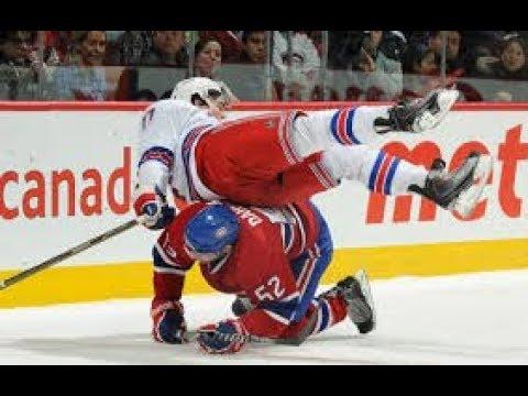 NHL: Big hits