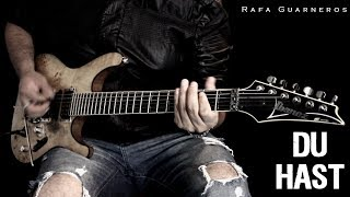 Video Rammstein - Du Hast - (Guitar cover by Rafa Guarneros) download MP3, 3GP, MP4, WEBM, AVI, FLV Juli 2018