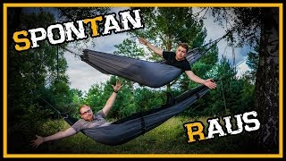Wie spontan bist du? - Bushcraft Outdoor Survival