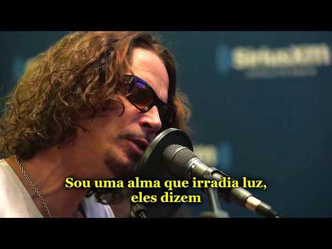 Chris Cornell - Fell On Black Days (Acoustic) Legendado PT-BR [HD] [With tribute]