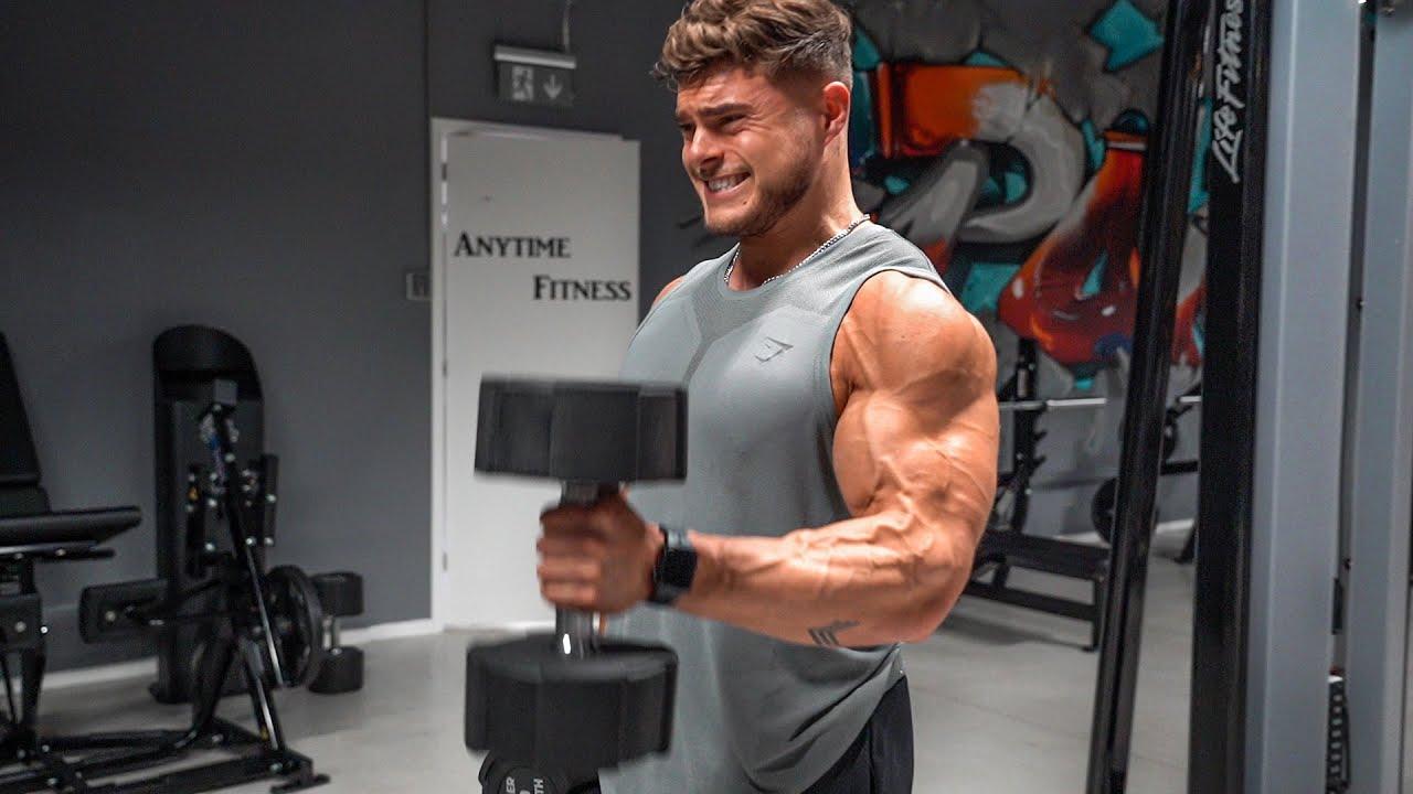Download Get Huge Arms   Full Workout For Bigger Biceps & Triceps