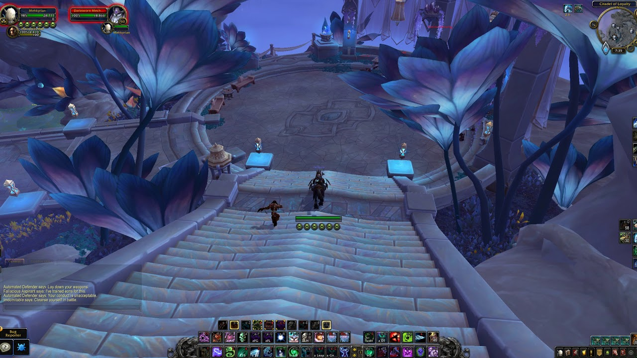 Gilded Chest @ Citadel of Loyalty (Bastion), WoW Shadowlands - YouTube